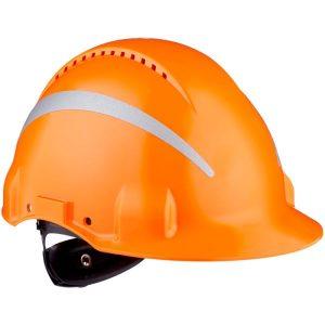 3M G3000 Suojakypärä Heijastimilla Oranssi