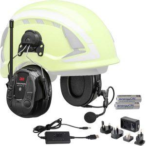3M Peltor WS Alert XP Kuulonsuojain Bluetooth, kypäräkiinnitys, latauspaketti