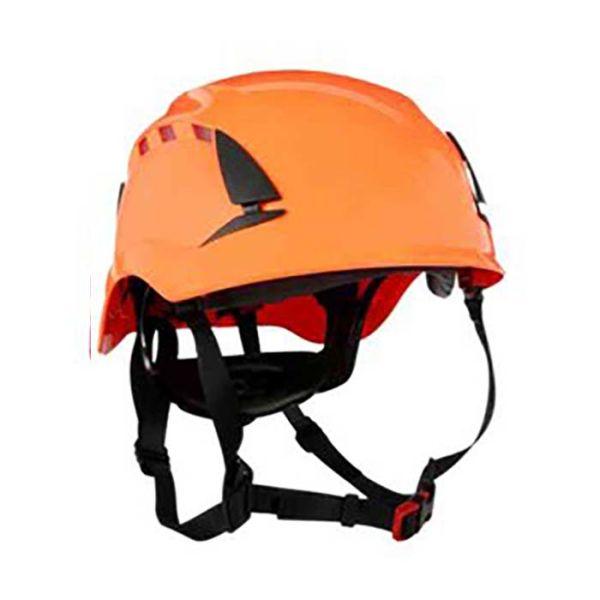 3M SecureFit X5007VE Suojakypärä Kaksinkertainen hyväksyntä, 1000 V Oranssi